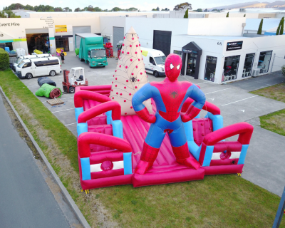 Spider-man Bouncy Castle