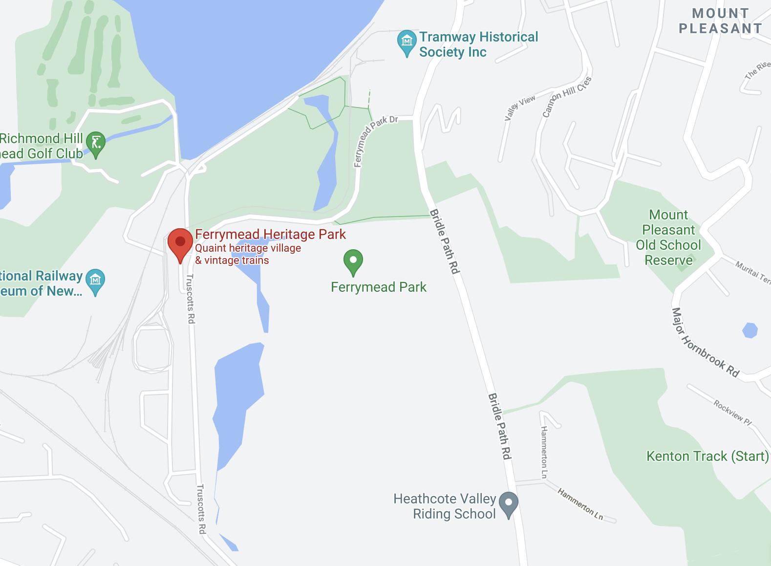 Ferrymead Map